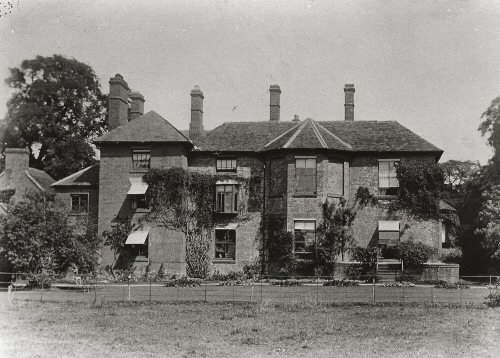 Image: photo of the Rectory, Colton